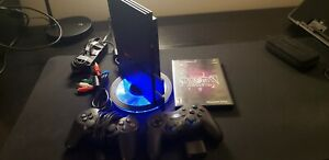 OEM Sony PS2 SLIM Console Bundle. Wireless Controller, Component, Extra Game