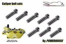 Ducati Aprilia Stainless joint bolt set Brembo Goldline front brake calipers