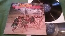 LP: Karl May – Durch die Wüste/Durchs Wilde Kurdistan – 2 LP- FASS