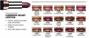 Avon True Luminous Velvet Lipstick 3.6g - Luminous Matte soft-metallic finish