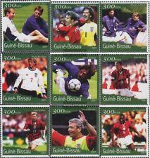 Guinée-bissau 1370-1378 neuf avec gomme originale 2001 Football-WM 2002