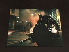 """Christian Bale In Person Hand Signed """"The Dark Knight"""" 10x8 Photo W/Proof+COA #3"""