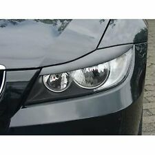 Black ABS Gloss Eyebrows For BMW 3 Series E90 E91 Eyelid Masks Covers Bad Look