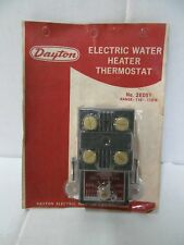 VINTAGE FACTORY SEALED DAYTON 2E501 ELECTRIC WATER HEATER THERMOSTAT 110-170°F