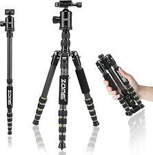 ZOMEI Z699C Carbon Fiber Portable Tripod with Ball Head Compact Travel for Canon