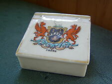 FROME SOMERSET CREST - DESK - CORONA CRESTED CHINA