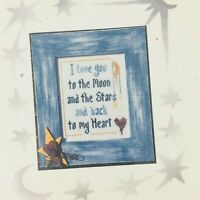 X-Appeal Moon and Stars Cross Stitch Pattern Nursery Art