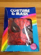spiderman ben cooper costume & mask 1982