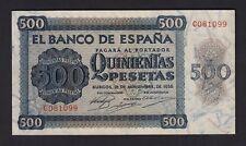 F.C. 500 PESETAS 1936 , SERIE C , EBC+ .