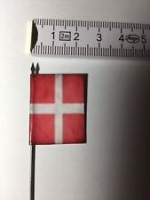 107) 1x 25mm 28mm Dark Age Crusader Order of the St. John Knights Banner Flag