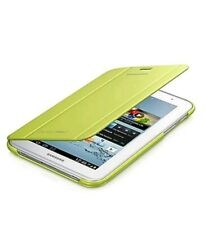 "SAMSUNG BOOK CASE COVER FOR GALAXY TAB 2 7 INCH 7"" LIME GREEN EFC-1G5SMECSTD"