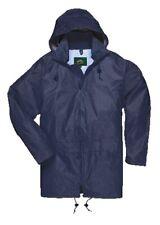 Portwest Regenjacke Wetterjacke Jacke blau Gr. M (449)