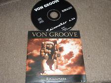 VON GROOVE - rainmaker   1 Track Promo CD