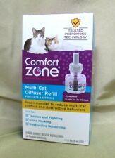 Comfort Zone Multi-Cat Calming Diffuser Refill 1Pk