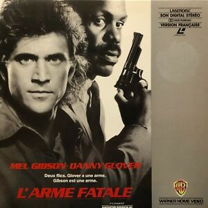 LASERDISC * - L'ARME FATALE - VF PAL - Mel Gibson, Danny Glover,