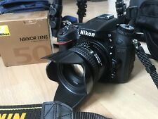 Nikon D7100 Body+Nikkor Lens 50mm F1.4D AF +Photography Equipment