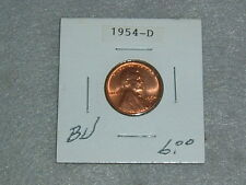 1954 D WHEAT PENNY BU  CONDITION