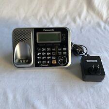 Oem Panasonic Pnlv234 Ac Adapter & Kx-Tg7871 Dock for Kx-Tg7875S Tg9542B Blue