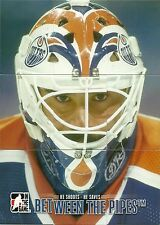 2012-13 ITG Between The Pipes BTP Grant Fuhr Complete 9 Card Puzzle Set & Mask
