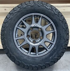 "EVO Corse DakarZero 18"" Land Rover Defender Alloy Wheels & BFG Tyres x5"