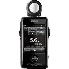 BRAND NEW SEKONIC L-478D L478D LITEMASTER PRO LIGHT METER CE VERSION