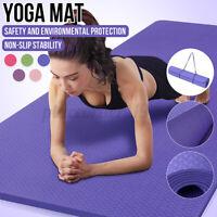 Exercise Mat EVA Yoga Mat Non-Slip Gym Fitness Pilates Workouts Durable Pad  ,'