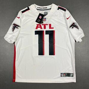 100% Authentic Julio Jones Nike Falcons On Field Vapor Limited Jersey Size XL 48