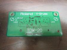 Roland TDW-20 Expansion Card TDW20 TD-20  Expanded Drum Module Brain V Drum