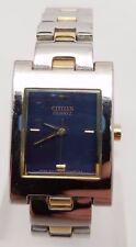 Citizen Ladies Designer Gold And Silver Tone Quartz Watch NEEDS REPAIR!