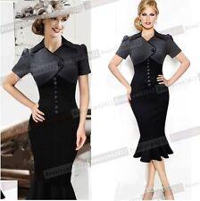 Work Short Sleeve Regular Dresses Midi