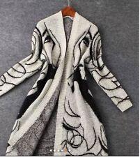 Woman Warm Winter Outwear Cardigan Long Sleeve Jacket Coat