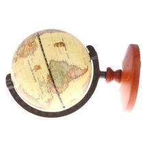 globe en bois bronze monde enfants géographie éducatif bureau bureau