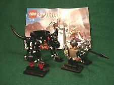 LEGO Vikings - #7015 Viking Warrior Challenge - 2005 complete with plans