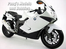 BMW K1300S 1/10 Scale Model Motorcycle by Welly - WHITE
