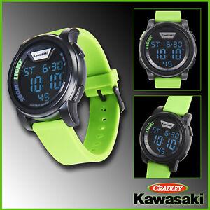KAWASAKI DIGITAL WATCH, Green (186SPM0032)