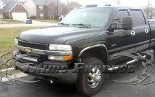 """2001-2006 Chevy Silverado Crew Cab Long Bed No Flare Rocker Panel Trim-12pc 6"""""""