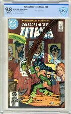 Tales of the Teen Titans #52  CBCS  9.8 NMMT  White pgs 4/85  Cheshire cover & A