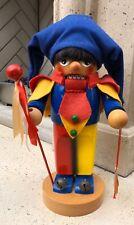 Steinbach Pralent Volskunst Germany Court Jester Clown Nutcracker