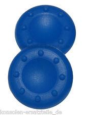 2 Stück PS3 Controller Analog Stick Aufsätze, Joystick Gummi Kappen - Blau * NEU