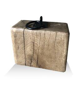 Rustic Oak Door Stops - from £10.95