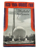 Vintage 1939 NY Worlds Fair Book ILLUSTRATED BY CAMERA 1940 ed