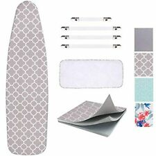 Ironing Board Cover and Pad Scorch Resistance Protective Mesh Cloth Cotton New