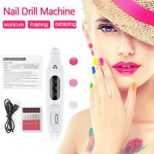 Electric Nail File Art Drill,File Acrylic Manicure Pedicure Portable Machine Kit