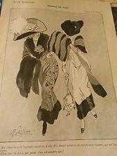 Manque de Tact c'est son adultère ego Print Art Déco 1911