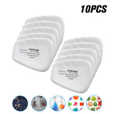 10PC 5N11 Cotton Filter Safety Protect Replacement For 6200 6800 7502 Respirator