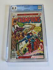 Champions #14 - CGC 8.5 VF+ 1st appearance of Swarm (Fritz von Meyer) Marvel