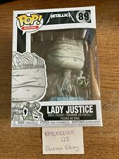 Funko Pop! Rocks Metallica #89 Lady Justice Vinyl Figure 1053V