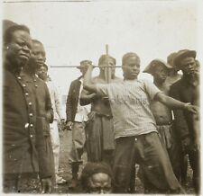 Afrique Colonisation France Photo NC3 Plaque de verre Stereo Vintage 1910
