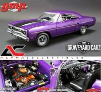 GMP 18897 1:18 1970 PLYMOUTH ROAD RUNNER PLUM CRAZY PURPLE GRAVEYARD CARZ