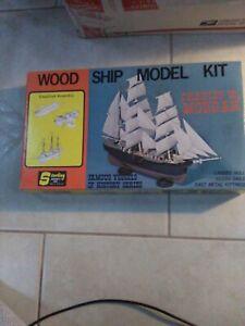 STERLING MODELS WOOD SHIP MODEL KIT CHARLES W.MORGAN